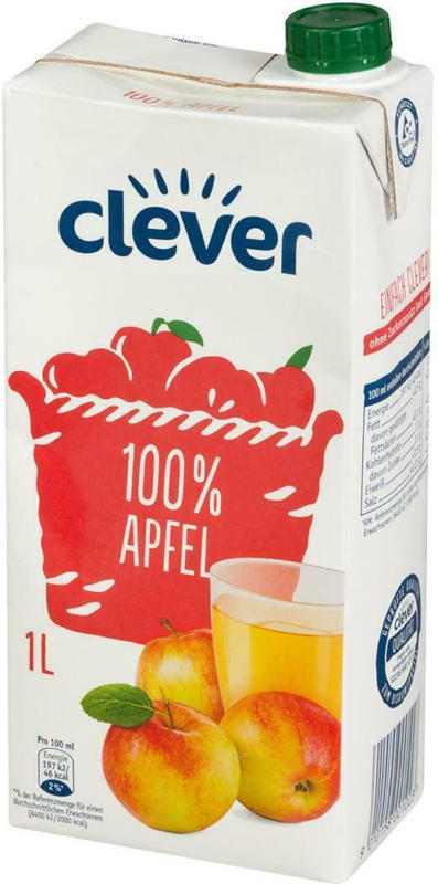 Clever Apfelsaft