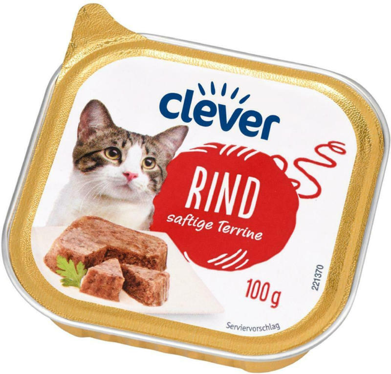 Clever Katze Rind