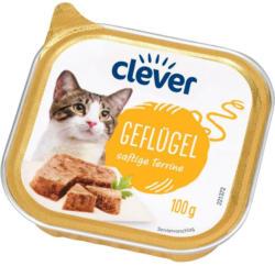 Clever Katze Geflügel