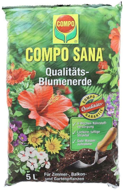 Compo Sana Blumenerde 5L
