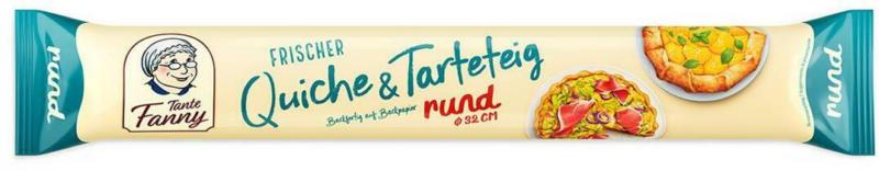 Tante Fanny Frischer Quiche- & Tarteteig