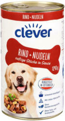Clever Hund Rind & Nudeln in Sauce