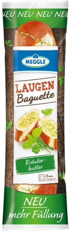 Meggle Laugenbaguette Kräuterbutter
