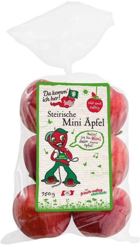 Da komm ich her! Mini Gala Apfel im Sackerl aus Österreich