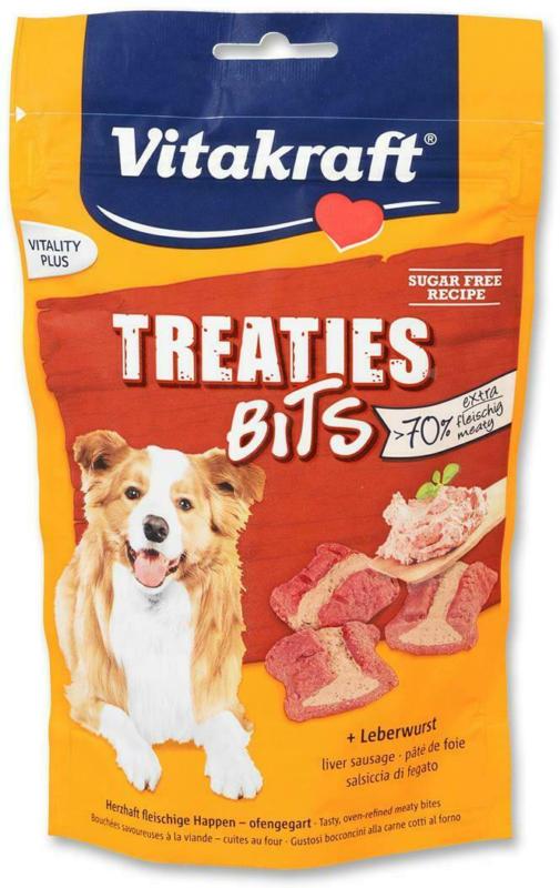 Vitakraft Treaties Bits Leberwurst