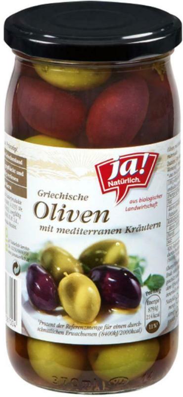Ja! Natürlich Griechische Oliven mit Kräutern