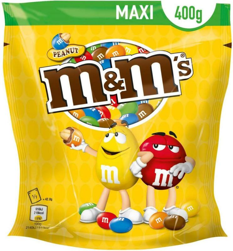 M&M's Erdnuss