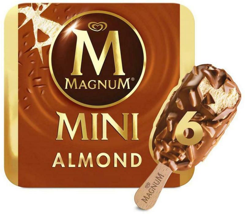 Eskimo Magnum Mini Mandel 6er