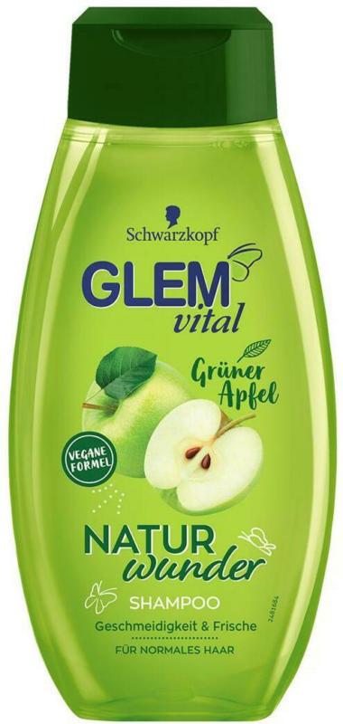 Glem vital Naturwunder Shampoo Grüner Apfel