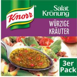 Knorr Salatkrönung Würzige Kräuter 3er
