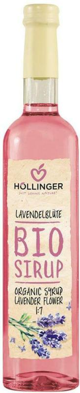 Höllinger Bio Sirup Lavendelblüte