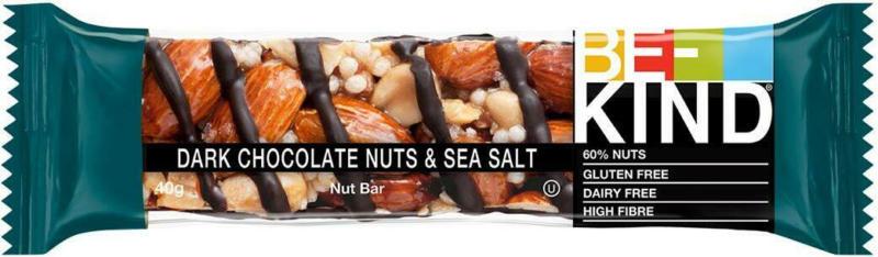 BE-KIND Dunkle Schokolade Nüsse & Meersalz Nussriegel