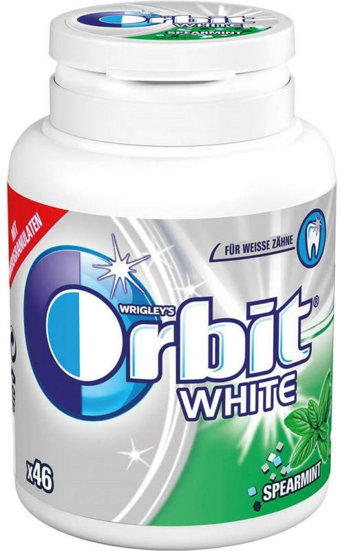 Orbit White Spearmint Bottle