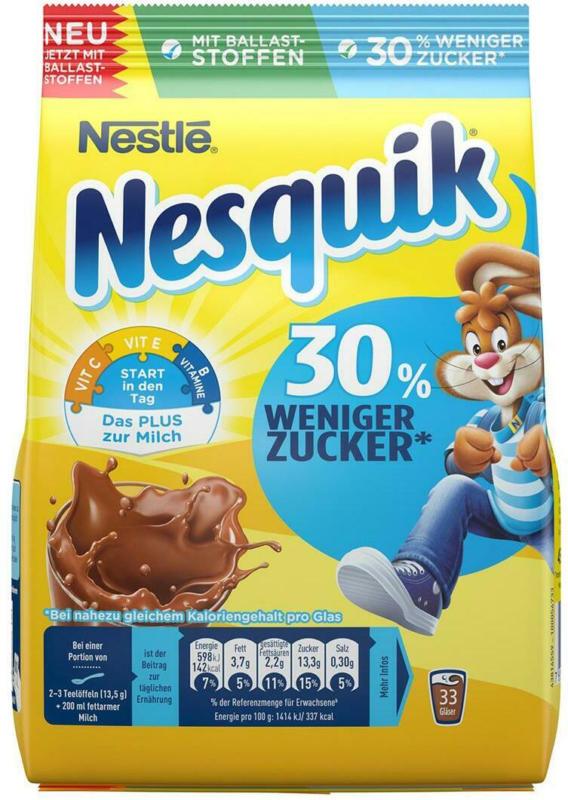 Nestlé Nesquik Kakao Zuckerreduziert