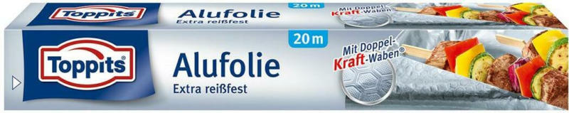 Toppits Alufolie Extra Reissfest 20m