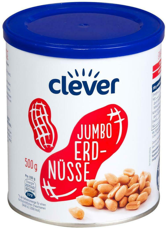 Clever Jumbo Erdnüsse