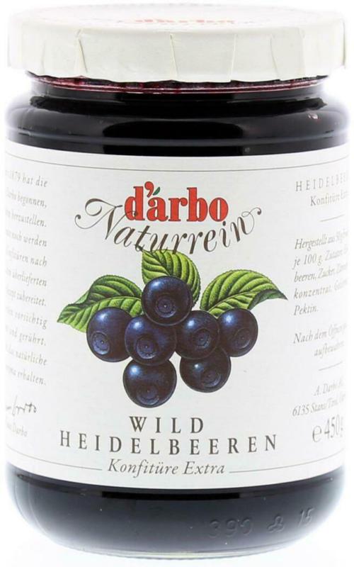 Darbo Heidelbeer Konfitüre
