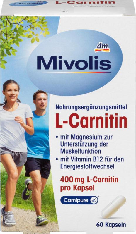 Mivolis L-Carnitin Kapseln, 60 St.