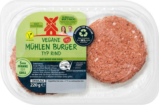 Ab Donnerstag erhältlich: Rügenwalder Mühle vegane Fleischalternative
