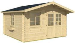 Gartenhaus mit Satteldach Natur 360x245x360cm Blockhaus Aktion