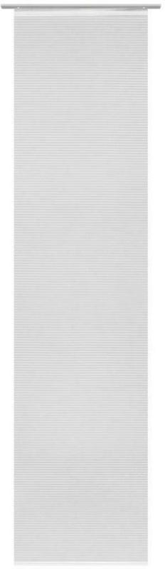 FlÀchenvorhang in Weiß