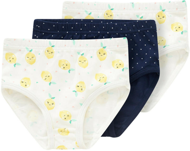 3 Baby Slips in verschiedenen Dessins (Nur online)