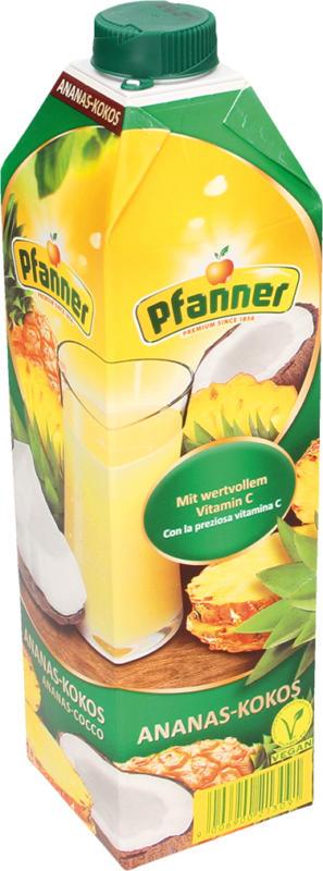 Ananas-Kokos-Getränk 25% - Pfanner