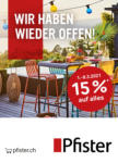 Pfister Angebot 15% auf alles - bis 08.03.2021
