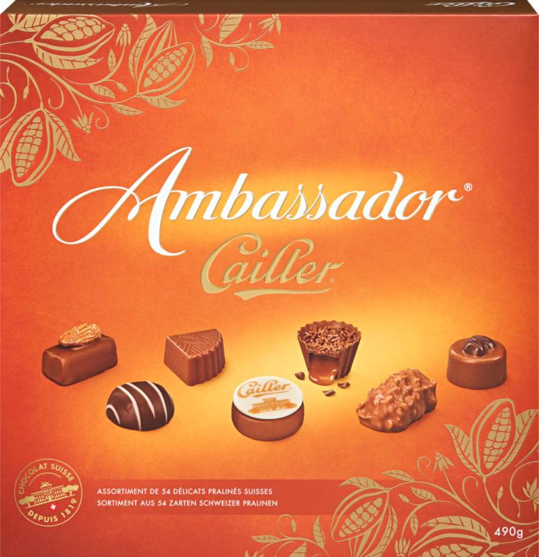 Cailler Pralinés Ambassador, 490 g
