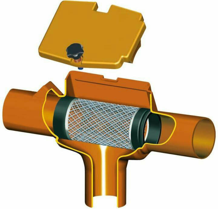 SUPRA-Filter intern für Cristall-Erdtanks