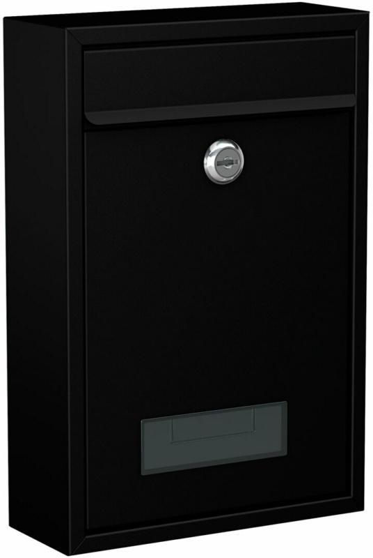 """Briefkasten """"BK 100M"""", schwarz schwarz"""