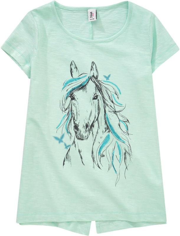 Mädchen T-Shirt mit Pferde-Motiv (Nur online)
