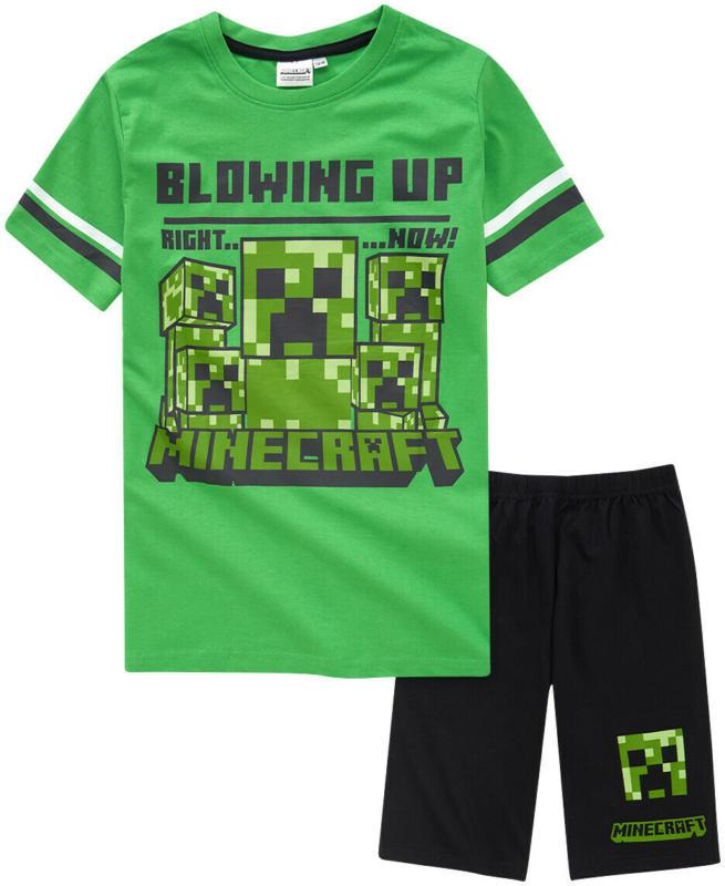Minecraft Jungen Shorty mit Print (Nur online)