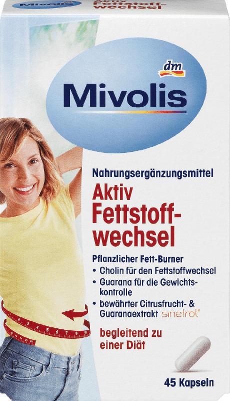 Mivolis Aktiv Fettstoffwechsel Kapseln 45 St.
