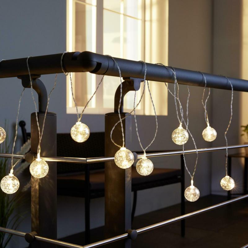 Lichterkette Noelia mit 10 Lichtern L ca. 480 cm