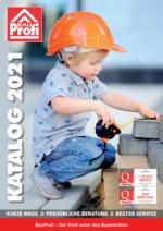 BauProfi Baumarkt-Jahreskatalog 2021