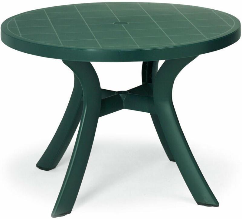 """Tisch """"Kansas"""" Ø100 cm, grün Grün"""