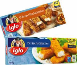 iglo Fisch-, Backfisch- oder Brezel Fischstäbchen
