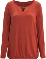 Damen Langarmshirt mit elastischem Saum (Nur online)