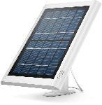 MediaMarkt Solar Panel - weiß für Spotlight Cam (Akku), verstellbare Halterung, 4m Verbindungskabel