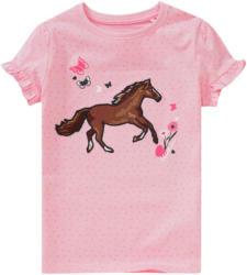 Mädchen T-Shirt mit Pferde-Applikation (Nur online)