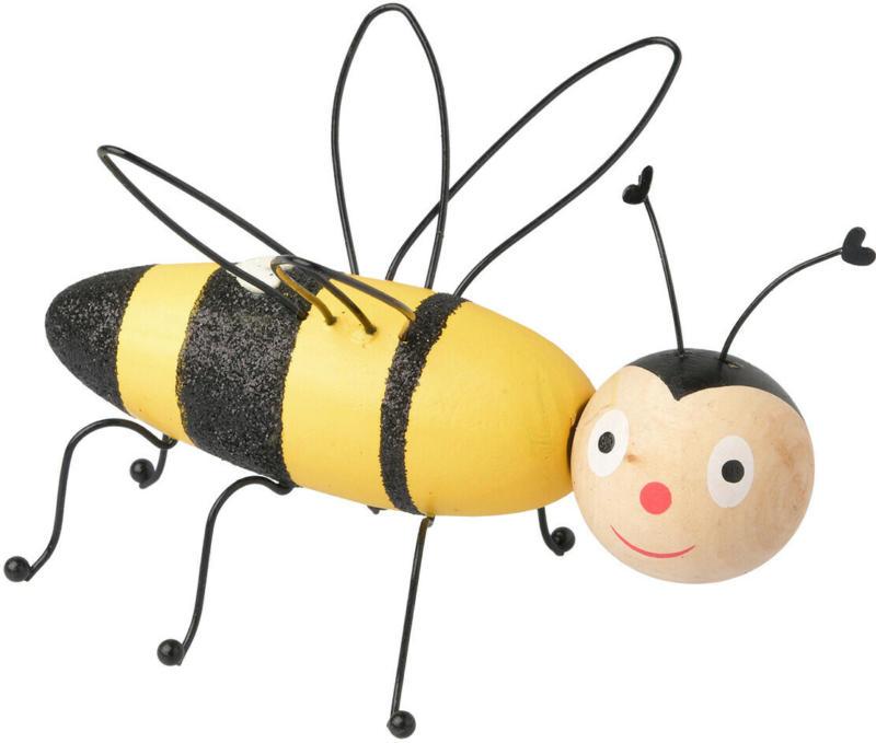 Dekofigur Biene aus Holz (Nur online)