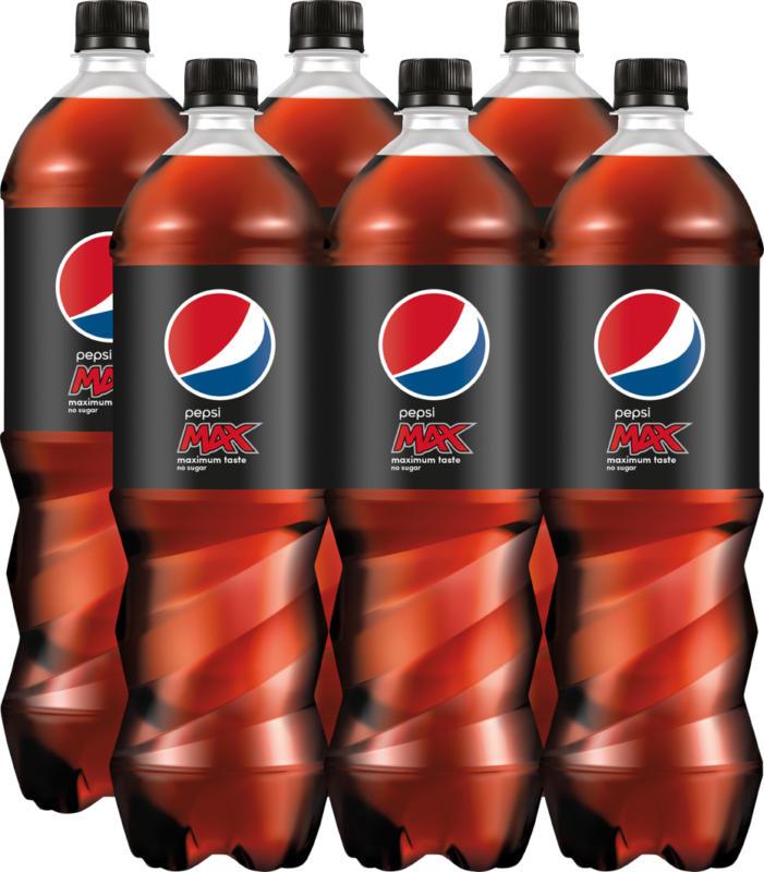 Pepsi Max, 6 x 1,5 litri