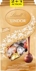 Lindt Lindor assortiert, 3 x 262 g