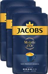 Jacobs Kaffee Médaille d'Or, Bohnen, 3 x 500 g