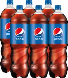 Pepsi Regular, 6 x 1,5 Liter