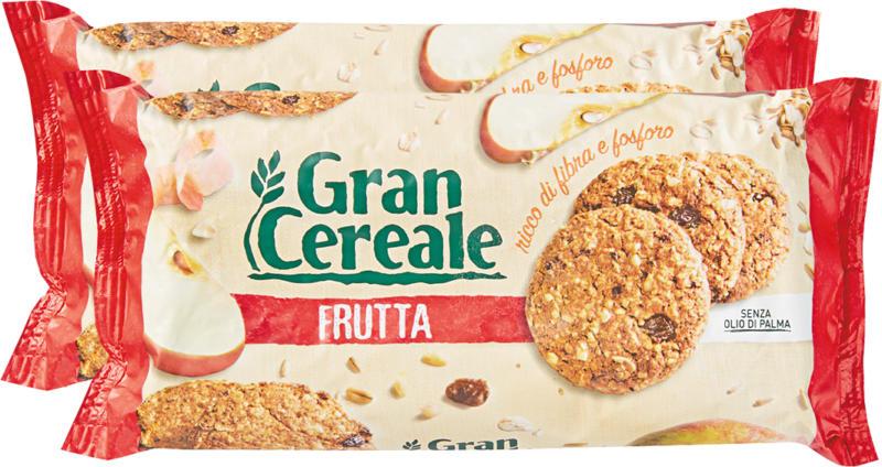 Gran Cereale Frutta Mulino Bianco, 2 x 250 g