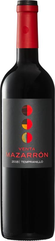 Venta Mazarrón Tempranillo Vino de la Tierra de Castilla y León, 2019, Castilla y León, Spagna, 75 cl