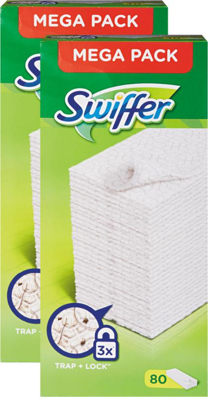 Swiffer Tücher, Antistaub, trocken, Nachfüller, 2 x 40 Stück
