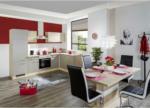 Möbelix Einbauküche Eckküche Möbelix Riva mit Geräten 280x170 cm Champagner/Eiche